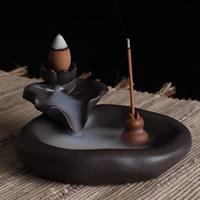 Porcelain Backflow Incense Burner, Porzellan, handgemacht, 110x100x55mm, verkauft von PC