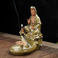 Porcelain Backflow Incense Burner, Porzellan, handgemacht, 150x110mm, verkauft von PC
