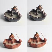 Porcelain Backflow Incense Burner, Porzellan, handgemacht, keine, 65x110x65mm, verkauft von PC