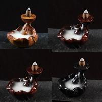 Porcelain Backflow Incense Burner, Porzellan, handgemacht, keine, 78x90x62mm, verkauft von PC