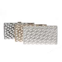 Unterarmtasche, Polyester, mit ABS-Kunststoff-Perlen & Zinklegierung, Rechteck, mit Strass, keine, 220x30x120mm, verkauft von PC