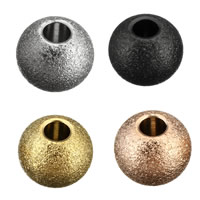 Edelstahl-Beads, Edelstahl, Trommel, plattiert, keine, 6x8x8mm, Bohrung:ca. 3mm, 200PCs/Menge, verkauft von Menge