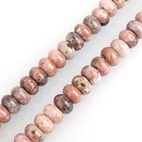 Pflaumenblüte Jade Perle, Rondell, natürlich, verschiedene Größen vorhanden, Bohrung:ca. 0.5-2mm, verkauft per ca. 15.5 ZollInch Strang