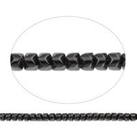 Nicht-magnetische Hämatit Perlen, Non- magnetische Hämatit, 5x4x5mm, Bohrung:ca. 1mm, ca. 98PCs/Strang, verkauft per ca. 15.5 ZollInch Strang
