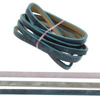 Lederband, PU Leder, keine, 10x2mm, 1.2m/Strang, verkauft von Strang