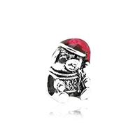 Europa Beads Weihnachten, Zinklegierung, Bär, antik silberfarben plattiert, Weihnachtsschmuck & ohne troll & Emaille, frei von Nickel, Blei & Kadmium, 11x15mm, Bohrung:ca. 4.5mm, 10PCs/Menge, verkauft von Menge