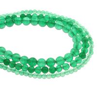 Malaysia Jade Perle, flache Runde, verschiedene Größen vorhanden, Bohrung:ca. 1mm, Länge:ca. 14.5 ZollInch, verkauft von Tasche
