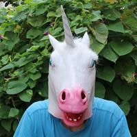 Fashion Party Maske, LatexMilchsaft, Halloween Schmuck, weiß, 440x380mm, verkauft von PC