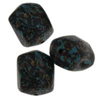 Acryl Schmuck Perlen, 15x18.50x14mm, Bohrung:ca. 2mm, ca. 119PCs/Tasche, verkauft von Tasche