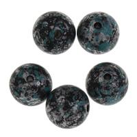 Acryl Schmuck Perlen, rund, 10mm, Bohrung:ca. 1.5mm, ca. 885PCs/Tasche, verkauft von Tasche