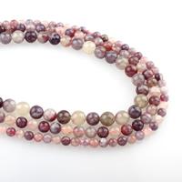 Turmalin Perle, rund, verschiedene Größen vorhanden, Bohrung:ca. 1mm, verkauft per ca. 15.5 ZollInch Strang