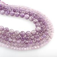 violetter Chalzedon Perle, rund, Februar Birthstone & verschiedene Größen vorhanden & facettierte, Bohrung:ca. 1mm, verkauft per ca. 15.5 ZollInch Strang