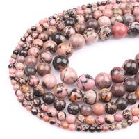 Perle, rund, verschiedene Größen vorhanden, Bohrung:ca. 1mm, verkauft per ca. 15.5 ZollInch Strang