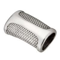Edelstahl Magnetverschluss, Schwärzen, 28x17x12mm, Innendurchmesser:ca. 12x8mm, 10PCs/Menge, verkauft von Menge