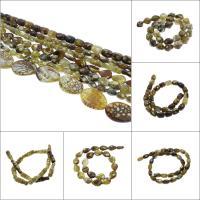 Leopard-Druck-Achat Perle, verschiedene Stile für Wahl, Bohrung:ca. 1.5mm, verkauft per ca. 15-16 ZollInch Strang