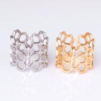 Zinklegierung Open -Finger-Ring, Biene, plattiert, unisex, keine, frei von Nickel, Blei & Kadmium, 20x17mm, Größe:6-9, verkauft von PC