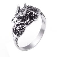 Titanstahl Fingerring, Drachen, verschiedene Größen vorhanden & für den Menschen & Schwärzen, 13mm, Bohrung:ca. 15mm, verkauft von PC