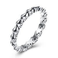 comeon® Finger-Ring, Thailand, verschiedene Größen vorhanden & Micro pave Zirkonia & für Frau, 3mm, verkauft von PC