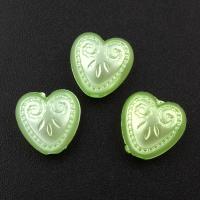 Imitation Acryl-Perlen, Acryl, Herz, 11.5x11.5x6mm, Bohrung:ca. 1mm, ca. 1000PCs/Tasche, verkauft von Tasche