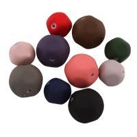 Acryl Perle, verschiedene Größen vorhanden & gummierte, gemischte Farben, Bohrung:ca. 1mm, verkauft von Tasche