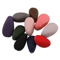 Acryl Perle, verschiedene Größen vorhanden & gummierte, gemischte Farben, Bohrung:ca. 1-2mm, verkauft von Tasche