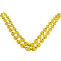 Zinklegierung Kette Halskette, goldfarben plattiert, unisex, frei von Nickel, Blei & Kadmium, 10mm, verkauft per ca. 29.5 ZollInch Strang