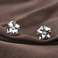Sterling Silber Schmuck Ohrring, 925 Sterling Silber, für Frau, 8mm, verkauft von Paar