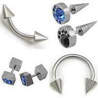 Stainless Steel Body Piercing Jewelry