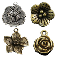 Brass Flower Pendants