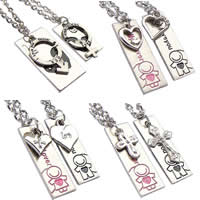 Couple Zinc Alloy Necklace