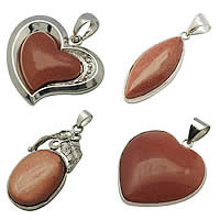 Goldstone Pendants
