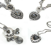 Crystal Zinc Alloy Necklace